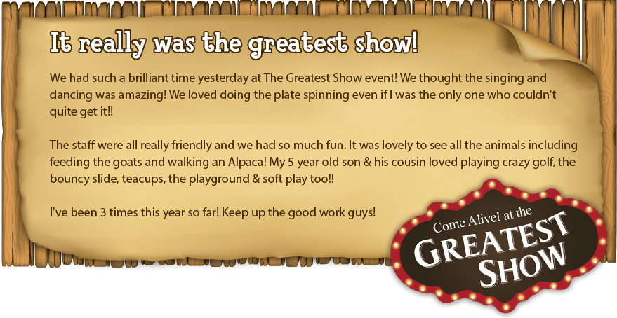 The Greatest Show review at Marsh Farm