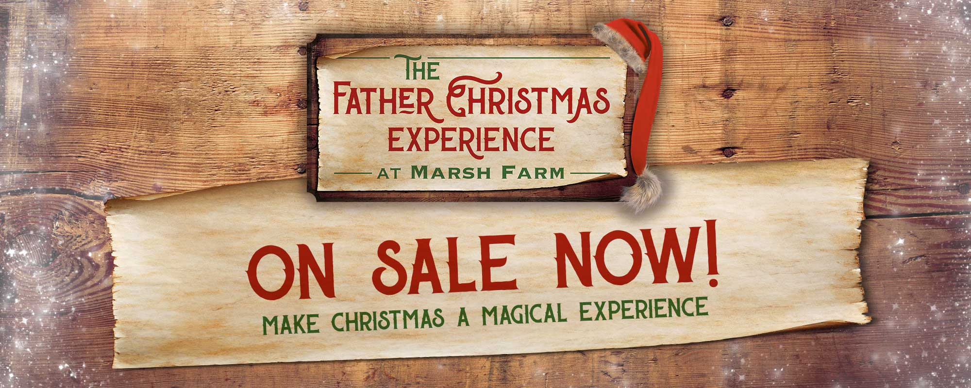 Christmas Experience on sale now!
