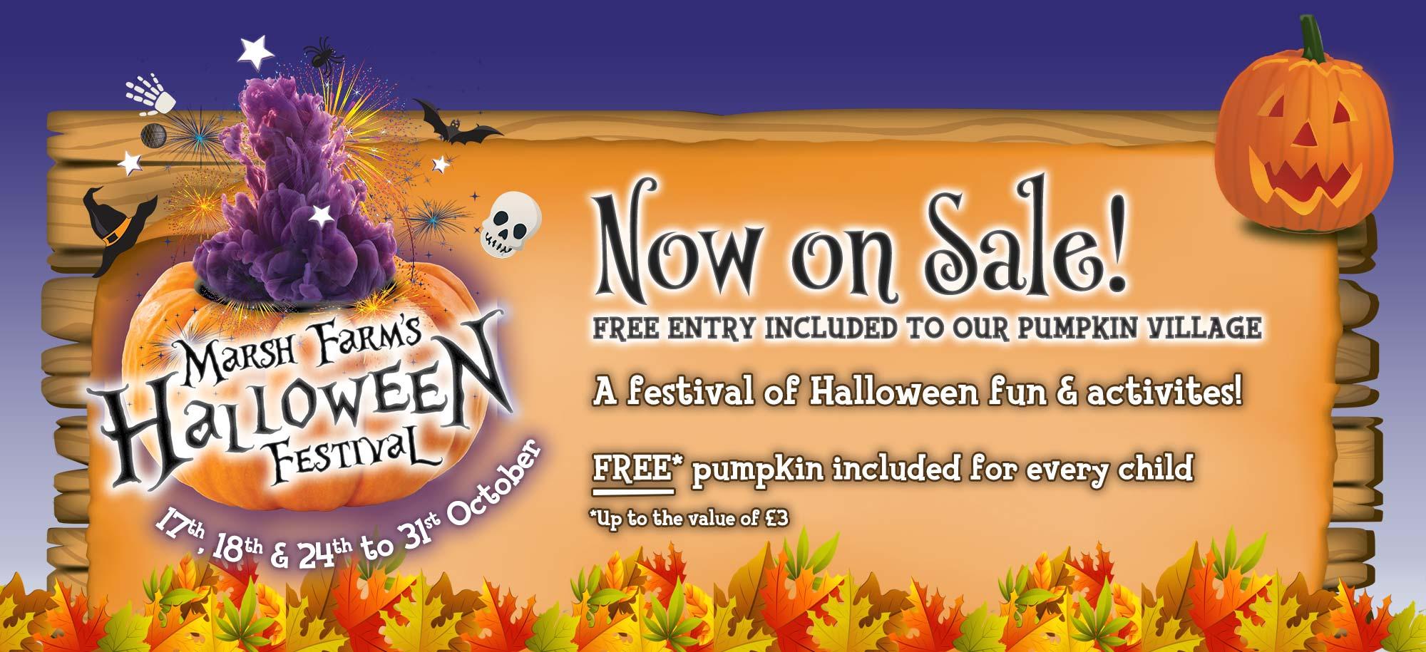Halloween Festival now on SALE!
