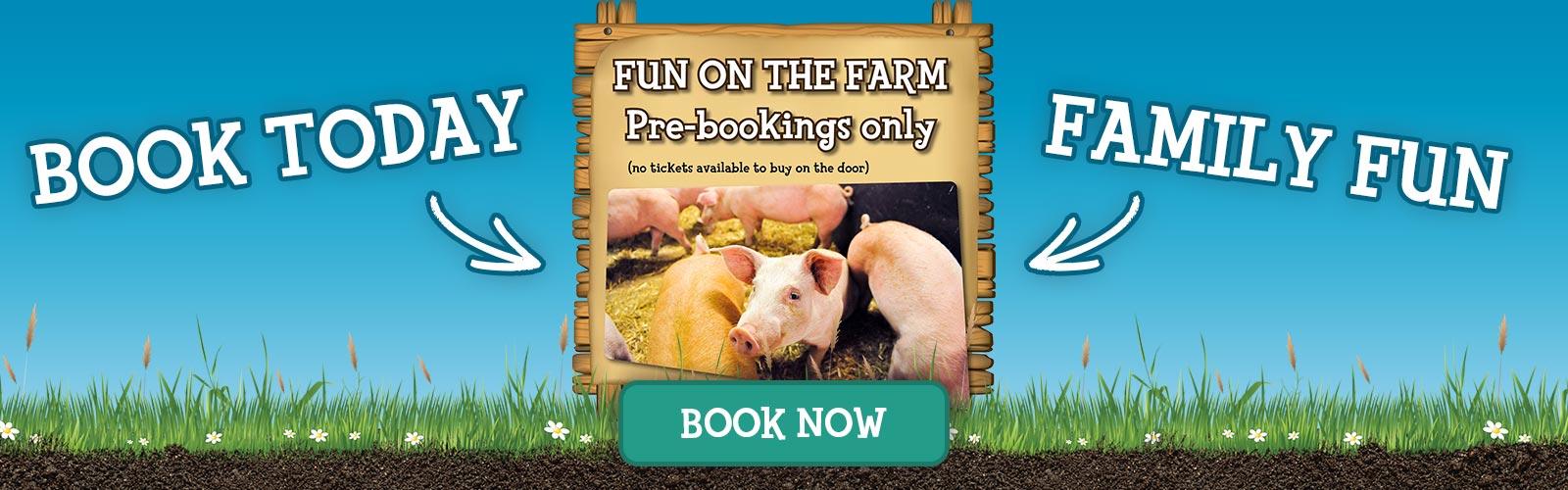 Farm Fun - Book Today