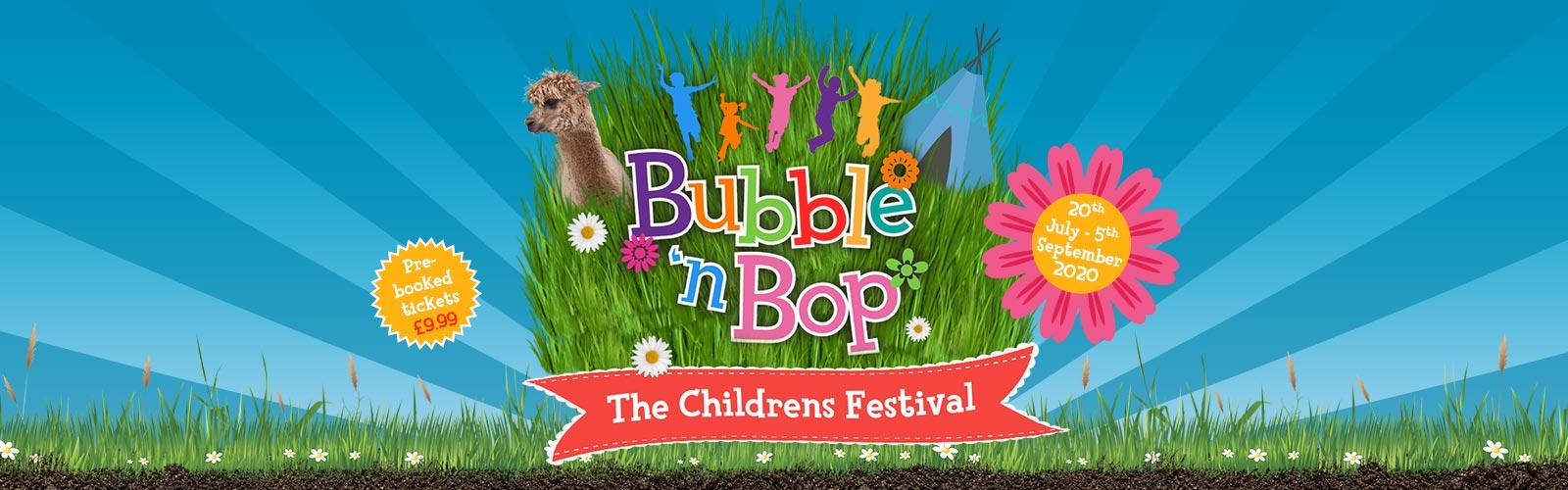 Bubble 'n Bop Children's Festival 2020