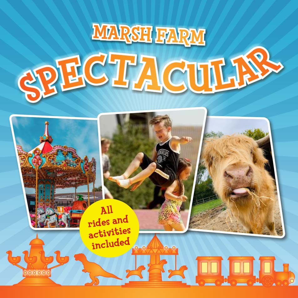 This May - Marsh Farm's Spectacular