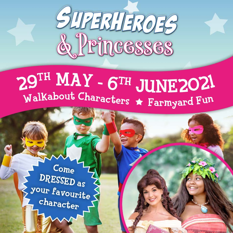 Superheroes & Princess - Come dressed as your favourite characters